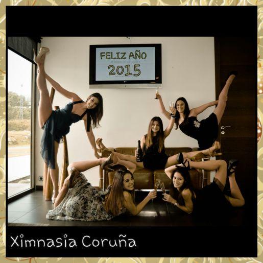 feliz año 2015 Ximnasia Coruña