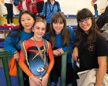Irena, Ailín, Thais, Elena